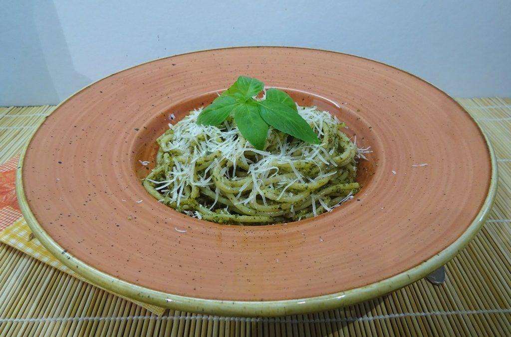 Pestos spagetti