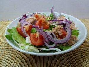 Saláta második réteggel
