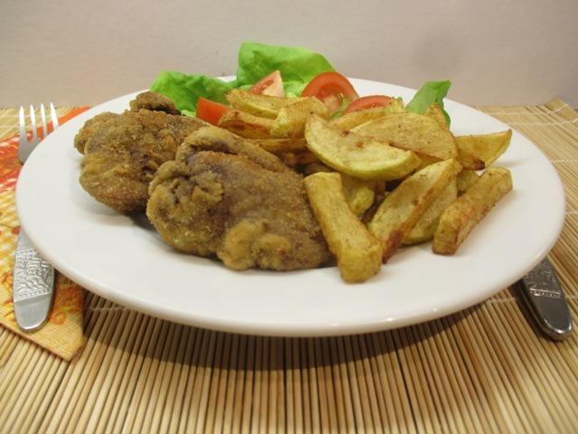 Rántott csirkemáj 1