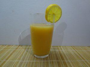 Birsalma ivólé pohárban