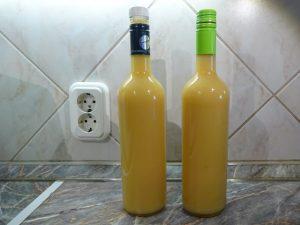 Birsalma ivólé üvegben 1