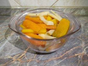 Főtt zöldségek