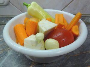 Zöldség hozzávalók