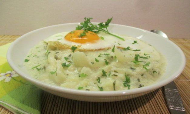 Karfiol főzelék