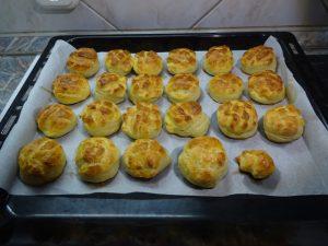 Krumplis pogácsa sütés után 1