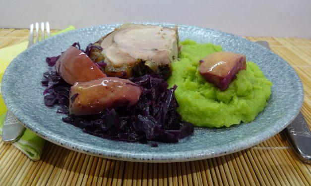 Medvehagymás krumplipüré
