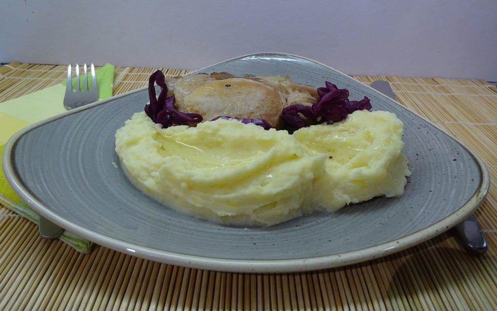 Zelleres krumplipüré tejszínnel