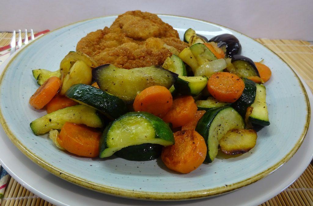 Sült vegyes zöldségköret