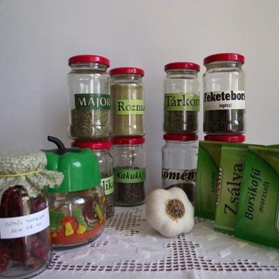 Fűszerek a háztartásban