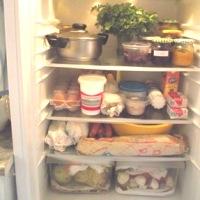 Tárolás  hűtőszekrényben
