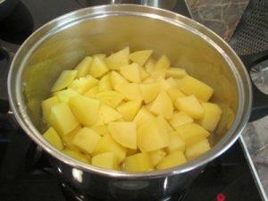 Zalai dödölle - krumpli főzése