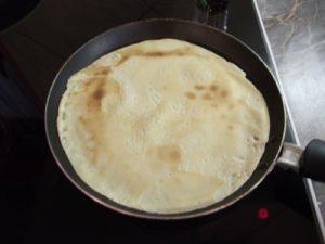 Palacsinta sütés - palacsintasütőben