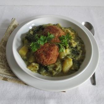 Kelkáposzta főzelék