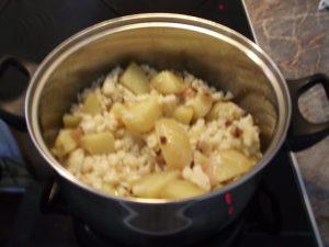 Krumpli és nokedli összekeverve