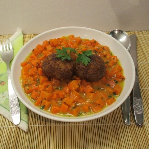 Sárgarépa főzelék