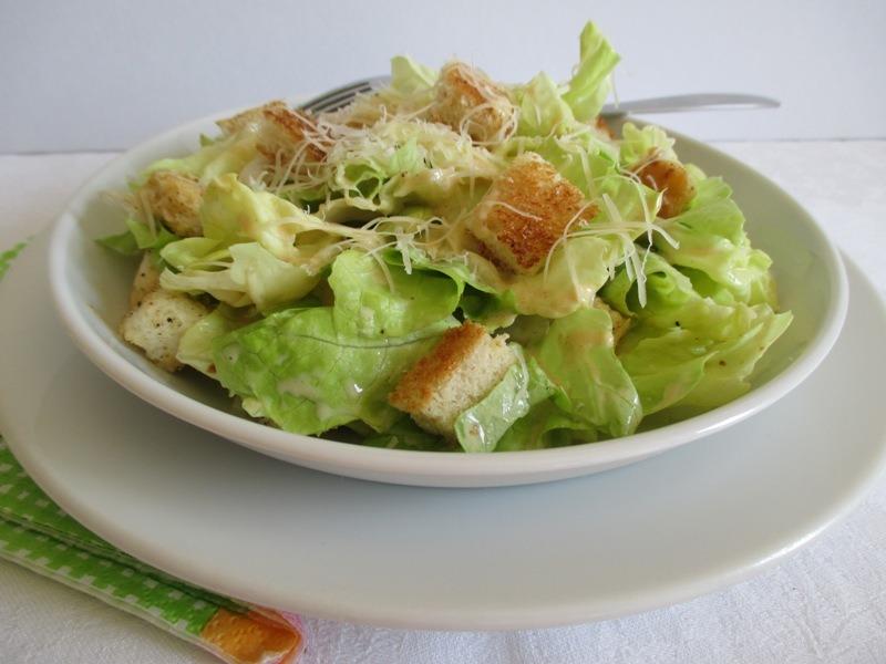 Hamis cézár saláta