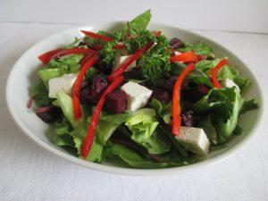 Saláta céklával, fetával 1