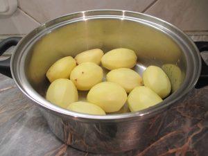 Krumpli előkészítve