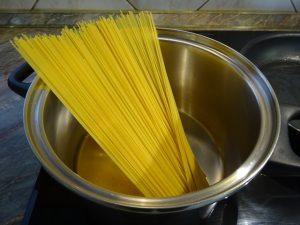Spagetti főzése 1