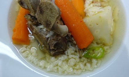 Reszelt tészta levesbetét