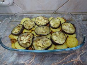 Krumpli és padlizsán 2. réteg